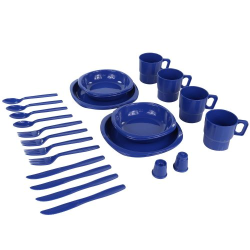 4 PERSON PICNIC SET OXFORD BLUE